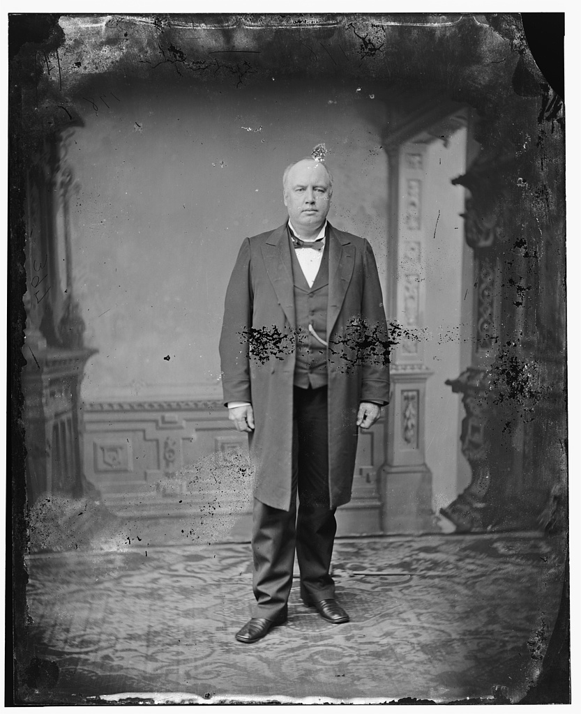 Robert Green Ingersoll was one of the most well-known freethinkers of his era. His views on religion and spirituality often mirrored Bierce's ideas. Courtesy of the Library of Congress.