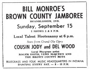 Advertisement, Brown County Democrat, September 12, 1963