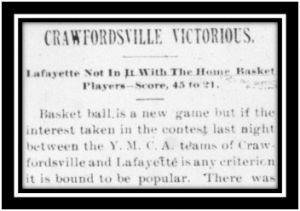 Crawfordsville Daily Journal, March 17, 1894. Click the image to view a PDF of the entire article.