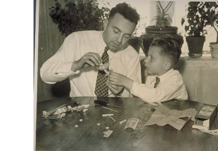 Edwin Way and David Teale, photograph, (date cited inaccurate), University of Connecticut Archives and Special Collections, accessed http://digitalcollections.uconn.edu/islandora/object/20002%3A199724976