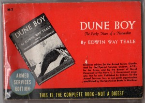 Edwin Way Teale, Dune Boy, Armed Services Edition (Council on Books in Wartime, 1944), accessed amazon.com