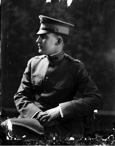 Captain Paul V. McNutt during his years of service in World War I. Image courtesy of Indiana Historical Society.