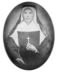 Image of Mother Theodore Guerin, Digital Image Copyright ©2006 Sisters of Providence. Saint Mary-of-the-Woods.