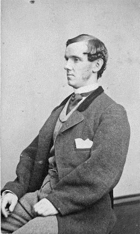 Actor Lawrence Barrett, circa 1880. When English's Hotel and Opera House opened on September 27, 1880, Barrett played the lead role in its production of Hamlet. Courtesy of Indiana Historical Society.