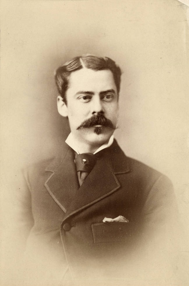William Eastin English, circa 1880s. The son of William H. English, William E. managed the English Hotel and Opera House. Like his father, he became a successful businessman and U.S. Congressman. Courtesy of Indiana Historical Society.