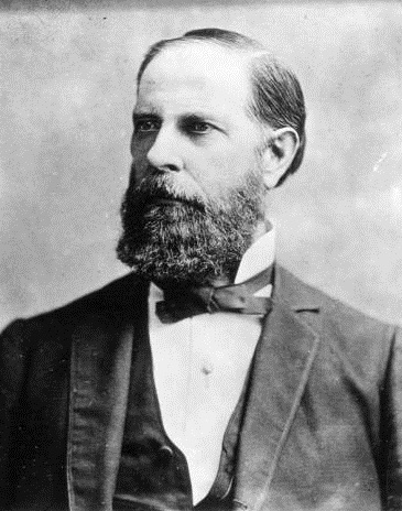 William Hayden English. Courtesy of Indiana Historical Society.