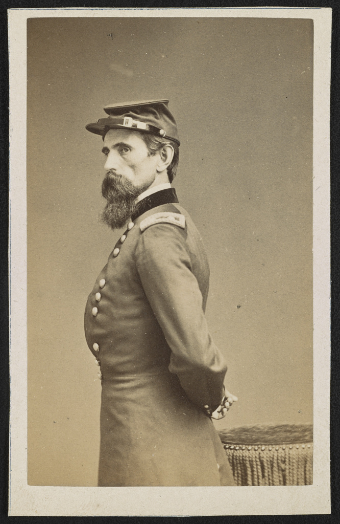 General Lew Wallace, circa 1860s. Courtesy of the Library of Congress.