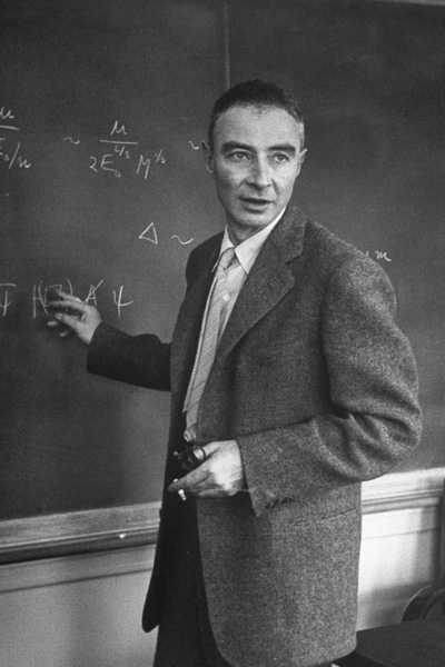 J. Robert Oppenheimer, photograph, in Ray Monk, Inside the Centre: The Life of J. Robert Oppenheimer (2014)