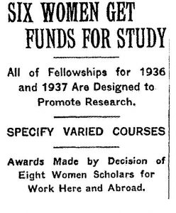 New York Times, February 16, 1936, N6, ProQuest Historical New York Times