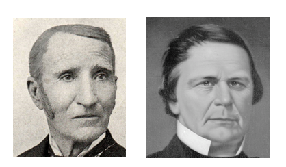 image of James H. Godman, image of Calvin Fletcher