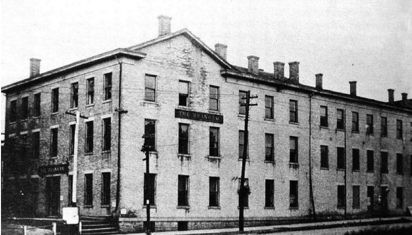 image of Branham House Hotel, Union, Indiana.