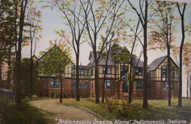 Indianapolis Orphans Home , 1909
