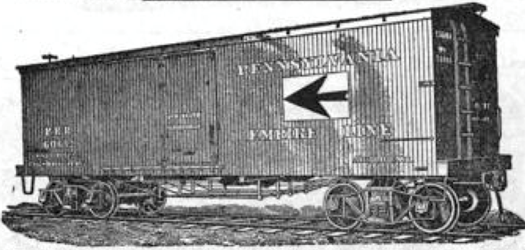 "Empire Line ""fast freight"" boxcar"