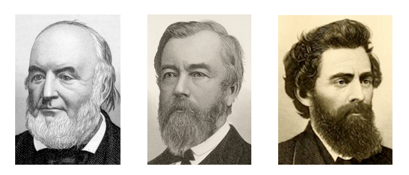 images of John Brough, Thomas A. Morris, Alfred Kilgore