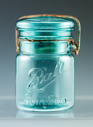 Fruit jar made by Ball Brothers Manufacturing Company, 1910-1920