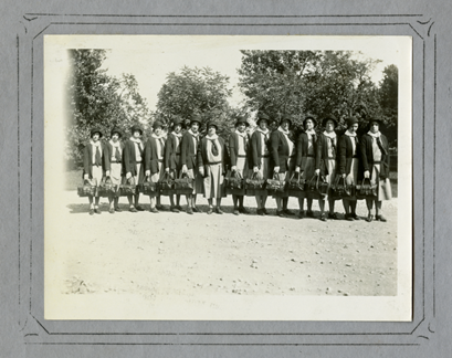 Muncie Visiting Nurses Association staff, 1932