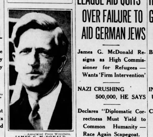 """History Unfolded Project Part 4: The Nuremberg Laws and a Hoosier """"Advocate for the Doomed"""""""