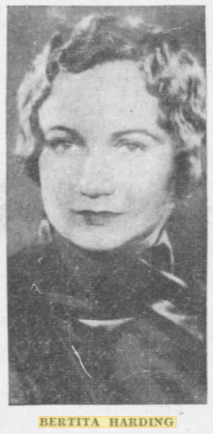 Bertita Harding