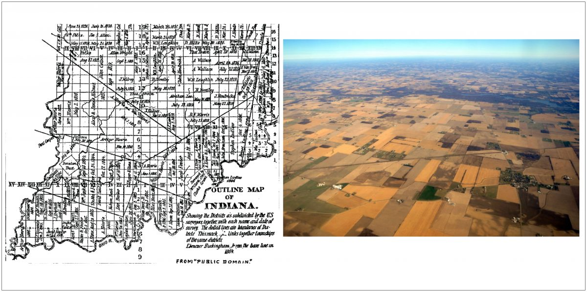 Democracy for Some: Defining the Indiana Landscape through the Rectangular Survey System