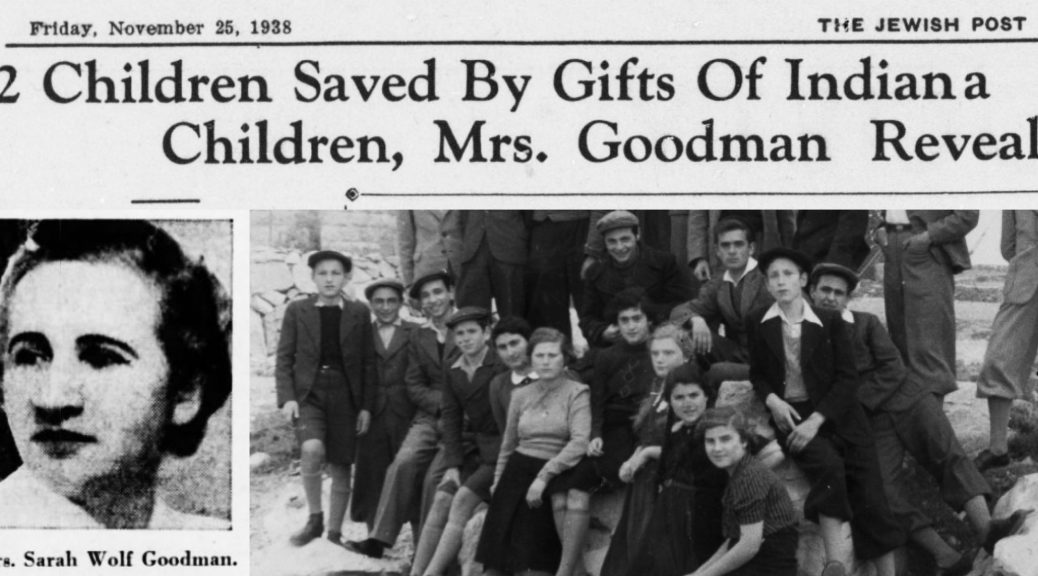 History Unfolded Project Part 5: Jewish Refugees, Hoosier Rescue